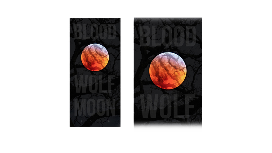 Blood, Wolf, Moon Poster 2019