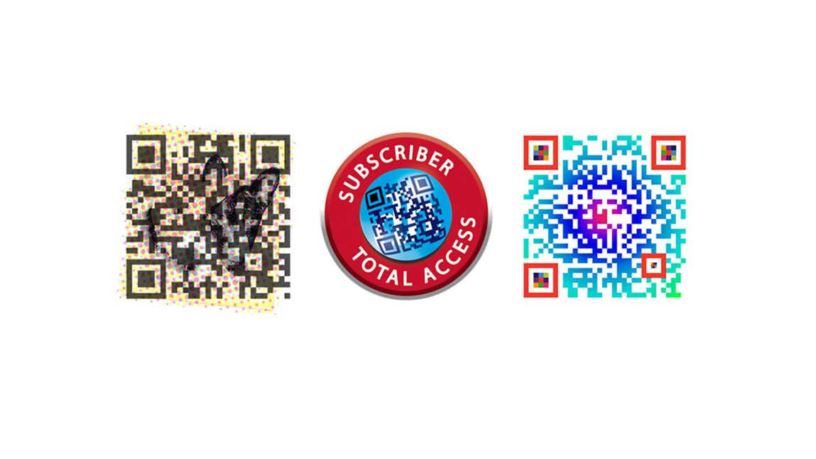QR codes developed for me, the Daily Herald, and the OAA