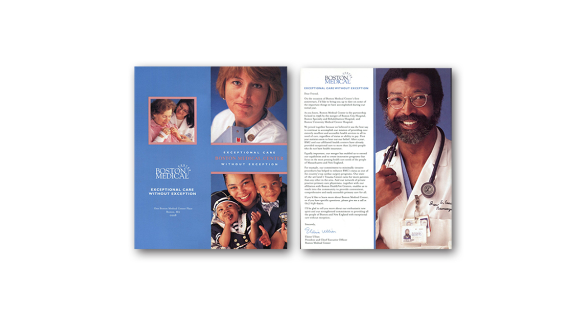 Boston Medical Center direct mail (1 of 2)